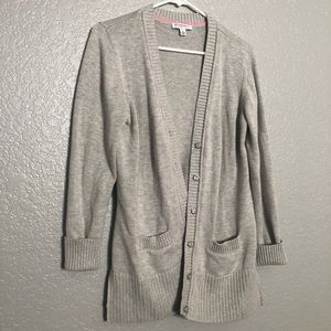 Long Sleeve Buttoned Sweater/Cardigan